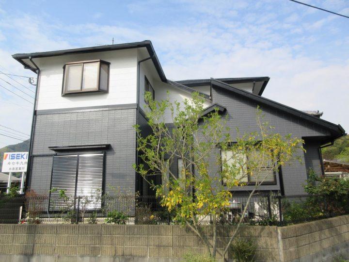 糸島市 T様邸 屋根塗装、外壁塗装