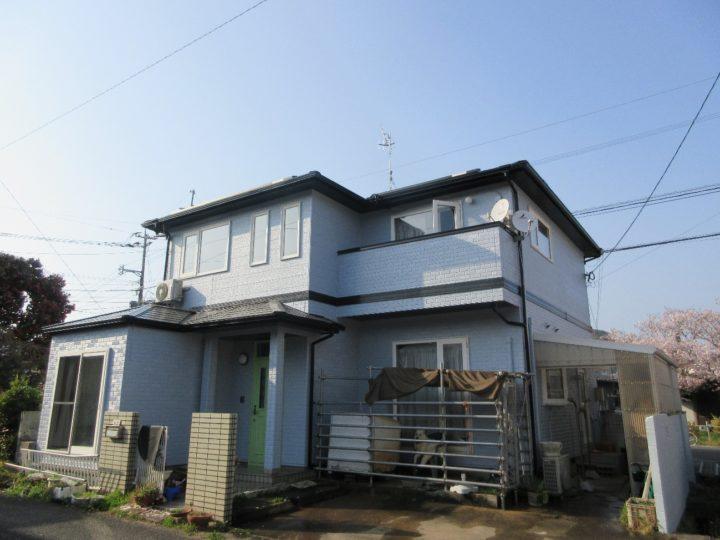 糸島市 S様邸 屋根塗装、外壁塗装