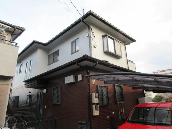 福岡市西区 O様邸 屋根塗装、外壁塗装