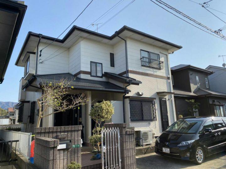 糸島市 K様邸 屋根塗装