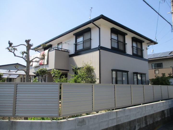 糸島市 K様邸 屋根塗装、外壁塗装