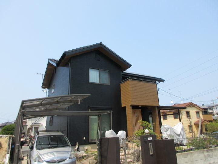 糸島市 A様邸 外壁塗装工事