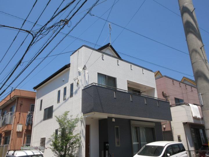 福岡市早良区 M様邸 屋根塗装、外壁塗装