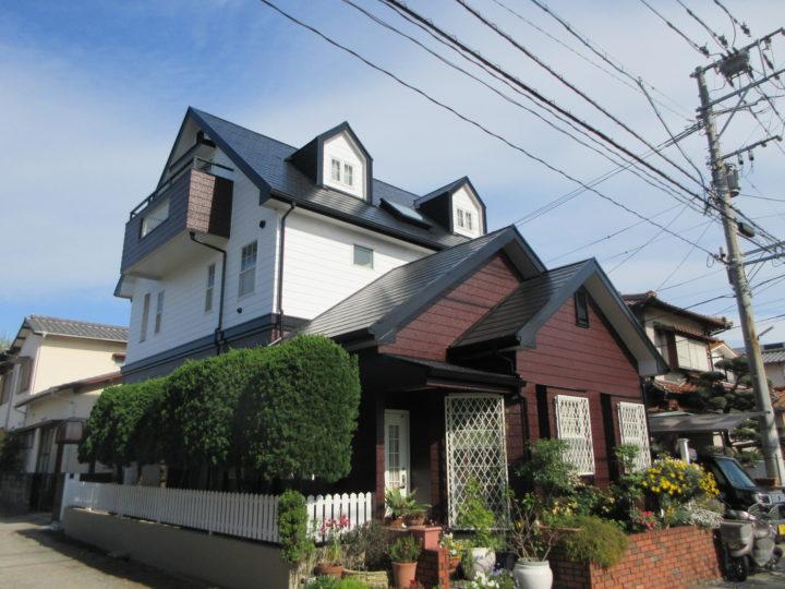 福岡市西区 G様邸 屋根塗装、外壁塗装