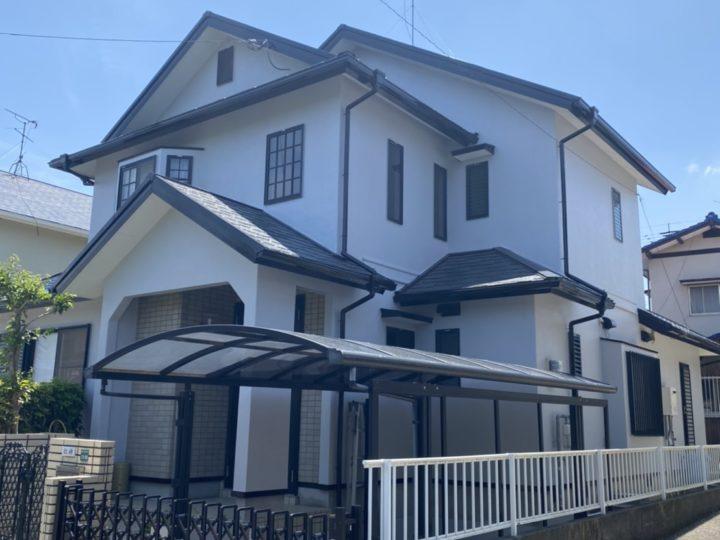 福岡市早良区 N様邸 屋根塗装、外壁塗装