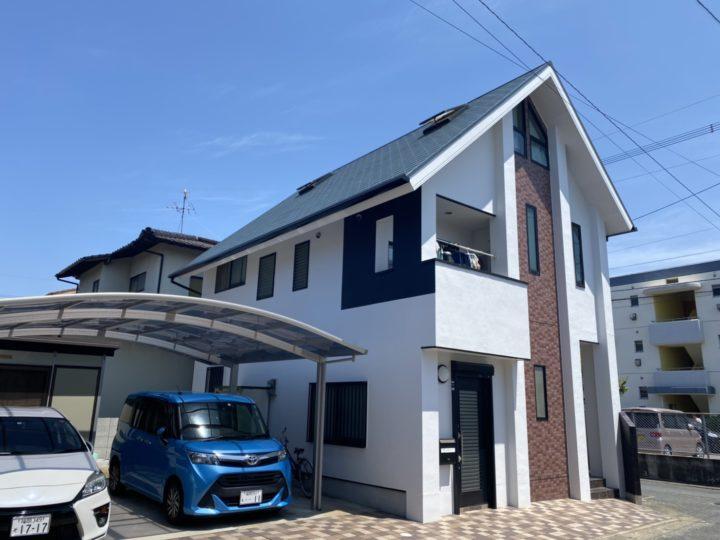 福岡市早良区 F様邸 屋根塗装、外壁塗装