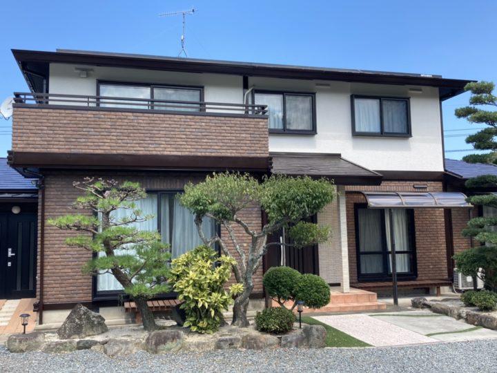 糸島市 K様邸 屋根・外壁塗装 カルセラ貼り工事