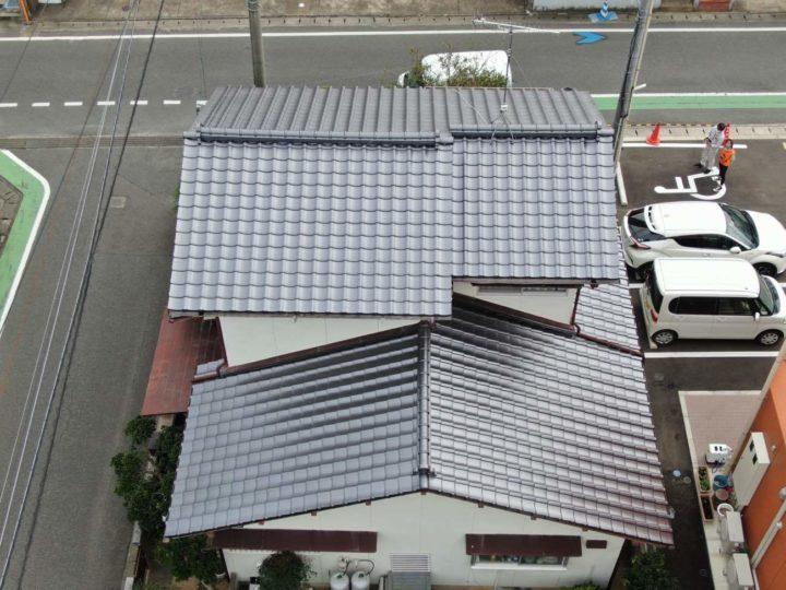 糸島市 K様邸 屋根葺替工事