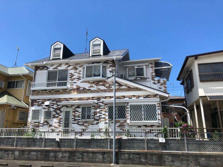 福岡市西区 A様邸 屋根塗装・外壁塗装・カルセラ貼り