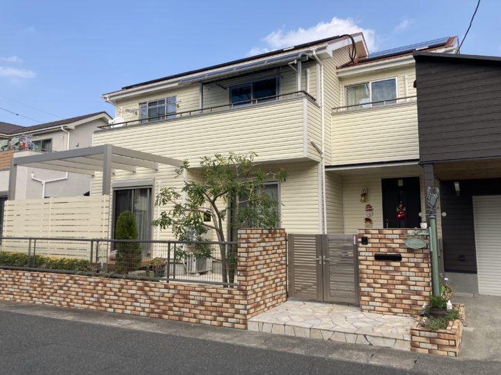 糸島市 Ⅰ様邸 屋根塗装・サイディング貼り・カルセラ工事