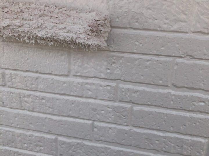 【壁】上塗り