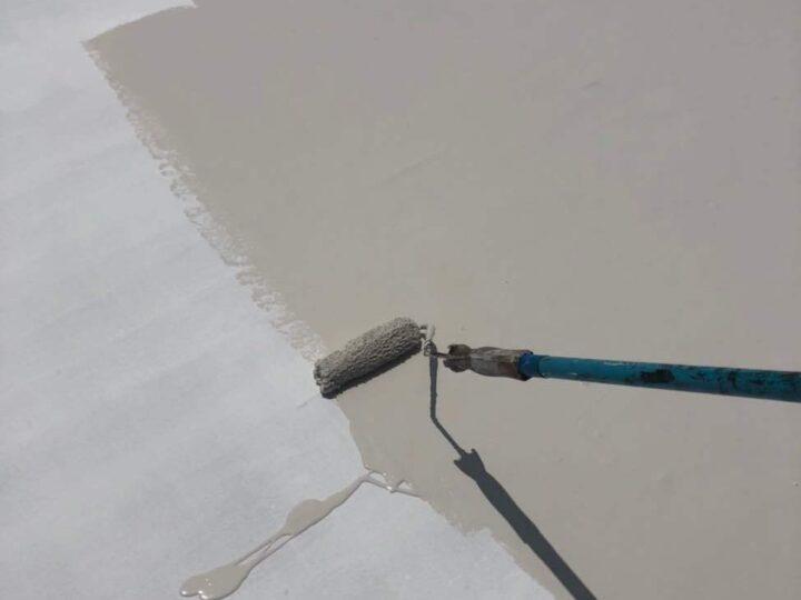 【上塗り】屋根