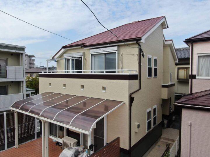福岡市南区O様邸 外壁・屋根塗装