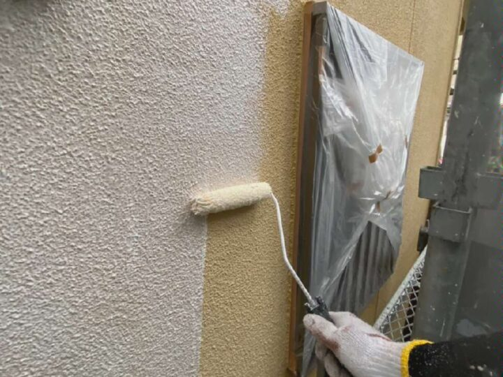 【 下塗り 】壁
