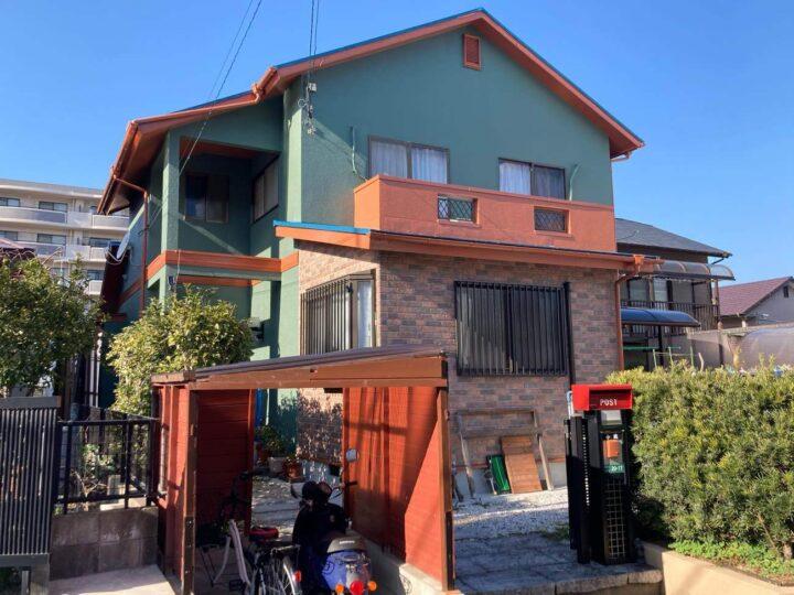 糸島市K様邸 屋根・外壁塗装