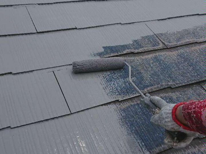 【 下塗り 】屋根