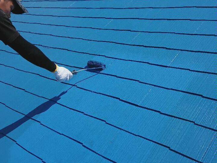 【 上塗り 】屋根