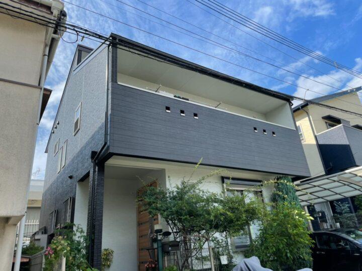 福岡市早良区 K様邸 屋根・外壁塗装 施工データ