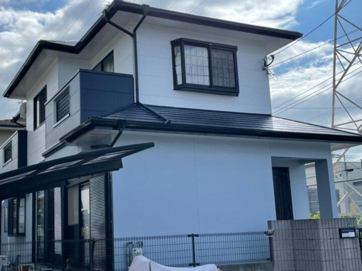 福岡市城南区Ⅰ様邸 屋根・外壁塗装