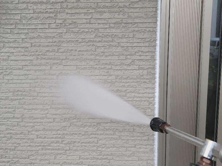 【高圧洗浄】 壁