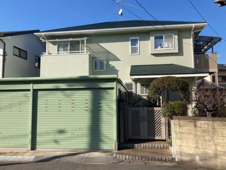 糸島市 K様邸 屋根・外壁塗装工事