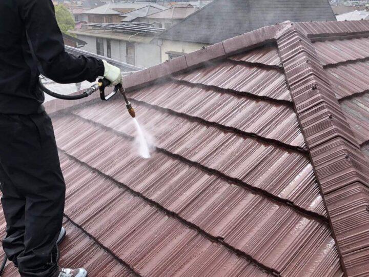 【高圧洗浄】屋根