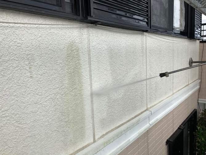 【高圧洗浄】壁