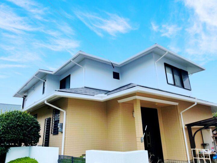 糸島市 S様邸 屋根・外壁塗装工事