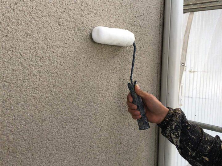 【下塗り】 壁