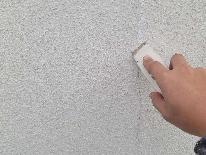 【クラック補修】 壁