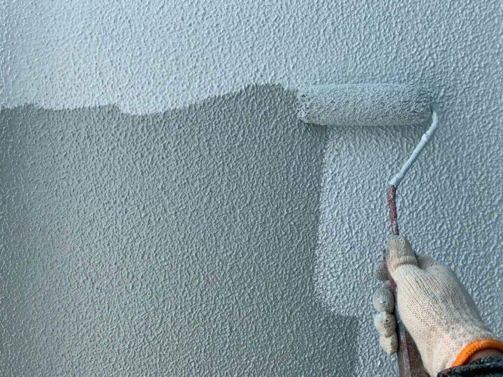 【上塗り】 壁