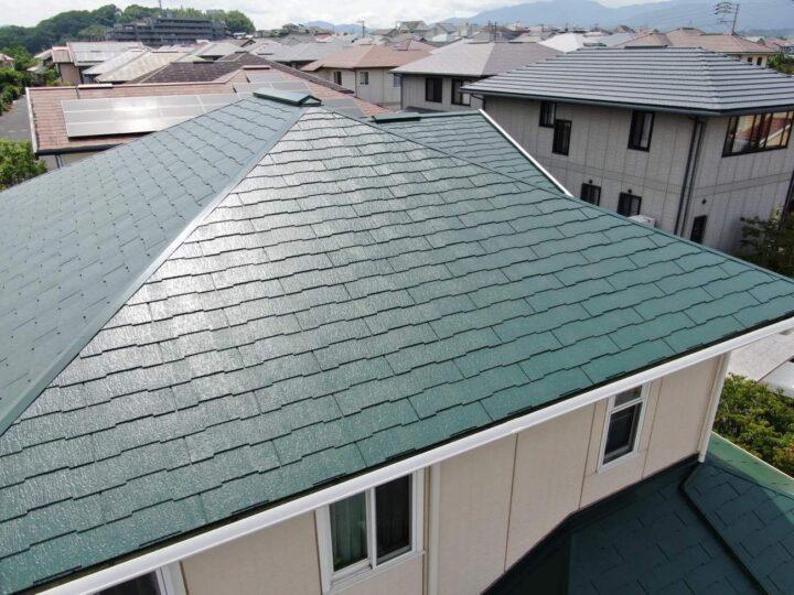 糸島市 N様邸 屋根塗装工事