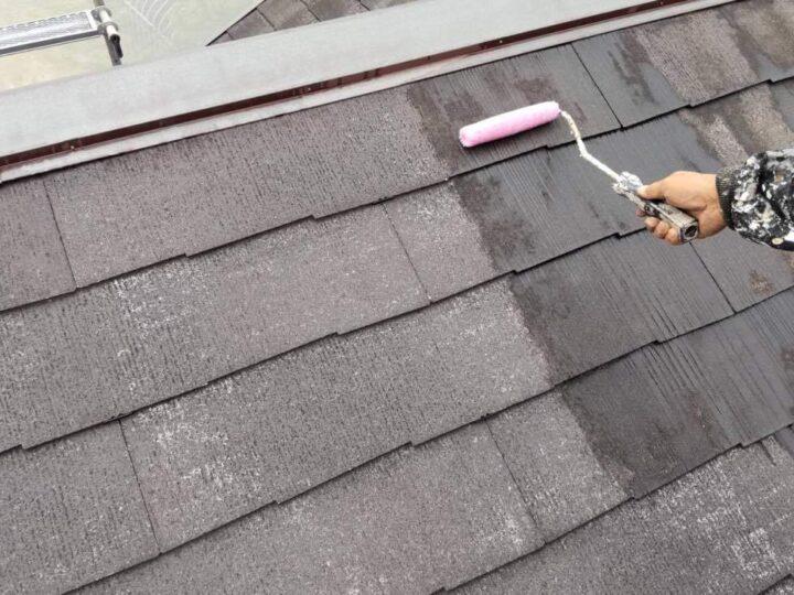 【下塗り】 屋根