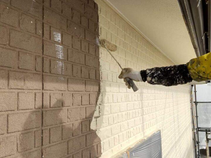 【中塗り】 壁