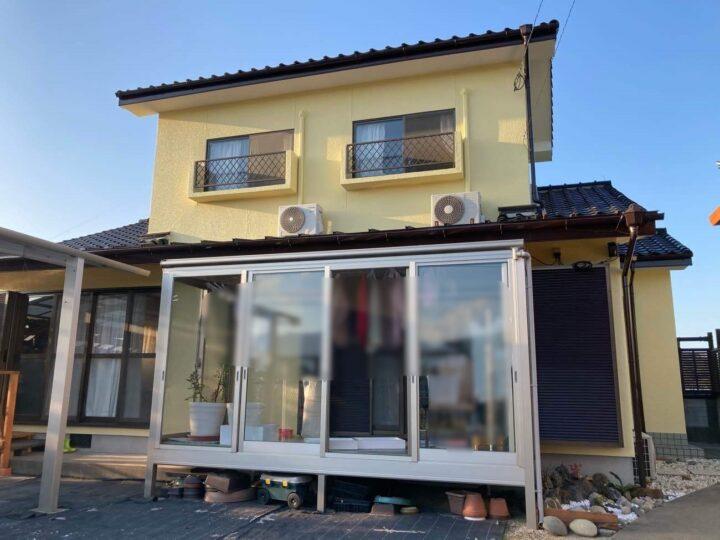 糸島市 N様邸 外壁塗装工事