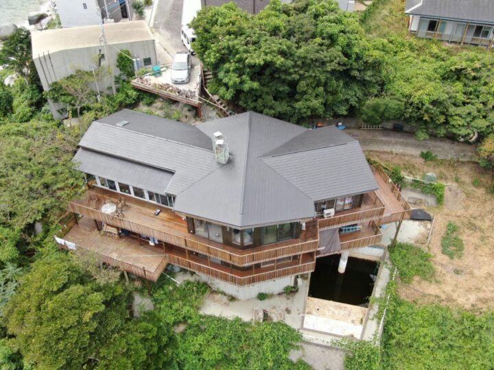 糸島市 T様邸 屋根塗装・板金補修工事