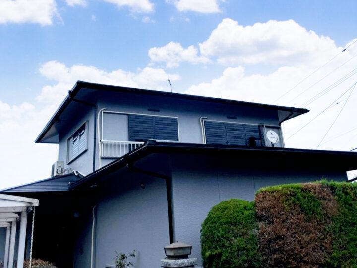 福岡市西区 H様邸 屋根葺替・外壁塗装工事