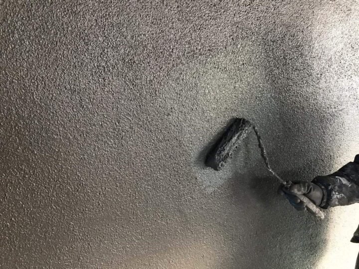 【上塗り】壁