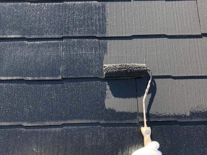 【中塗り】 屋根