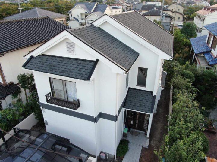 福岡市西区 N様邸 屋根カバー工法・外壁塗装工事