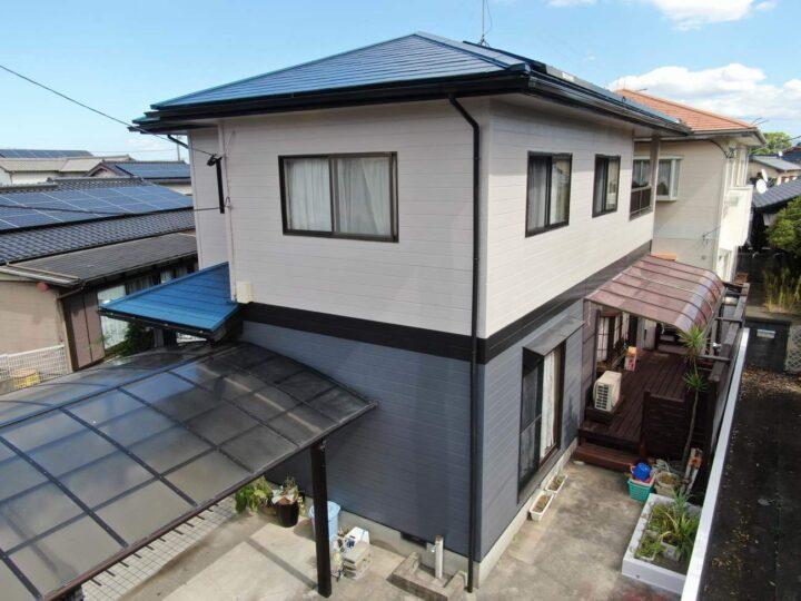 福岡市西区 M様邸 屋根・外壁塗装工事
