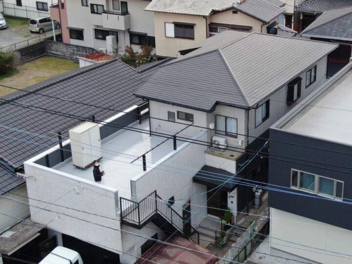 福岡市早良区 T様邸 屋根・外壁・ベランダ防水塗装工事