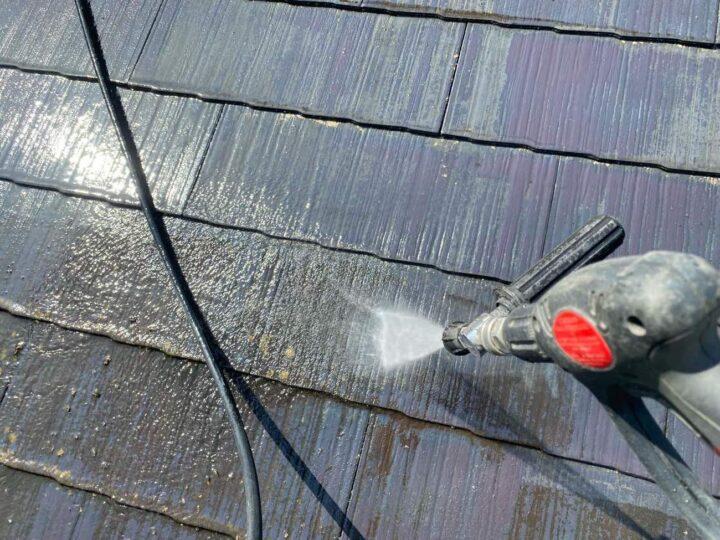 【高圧洗浄】 屋根