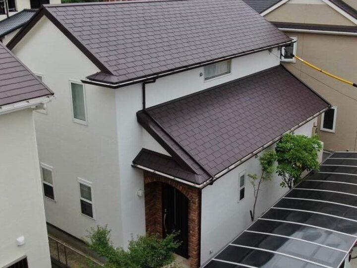 福岡市南区 K様邸 屋根外壁塗装工事
